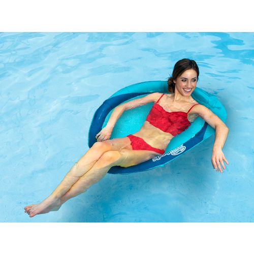 swimways spring float papasan floating pool chair academy