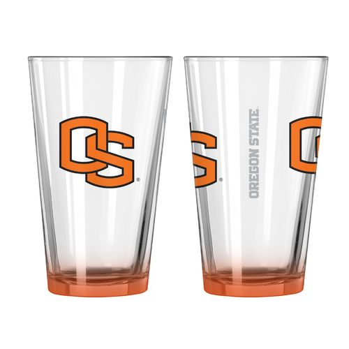 Boelter Brands Oregon State University Elite 16 oz. Pint Glasses 2-Pack