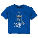 Majestic Infants' Kansas City Royals Team Logo T-shirt