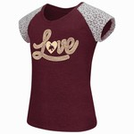 Colosseum Athletics Girls' Texas State University All About That Lace T-shirt