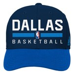 adidas™ Boys' Dallas Mavericks Adjustable Practice Cap