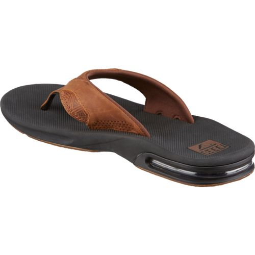 Reef Men's Leather Fanning Sandals - view number 3