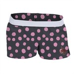 Soffe Girls' Texas State University Printed Authentic Low-Rise Short