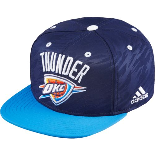 adidas™ Men's Oklahoma City Thunder Authentic On-Court Cap