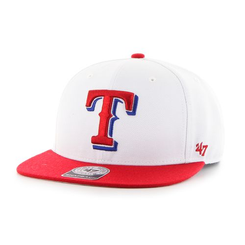 '47 Men's Texas Rangers Sure Shot 2-Tone Captain Cap