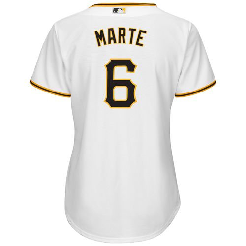 Majestic Women's Pittsburgh Pirates Starling Marte #6 Cool Base® Replica Home Jersey