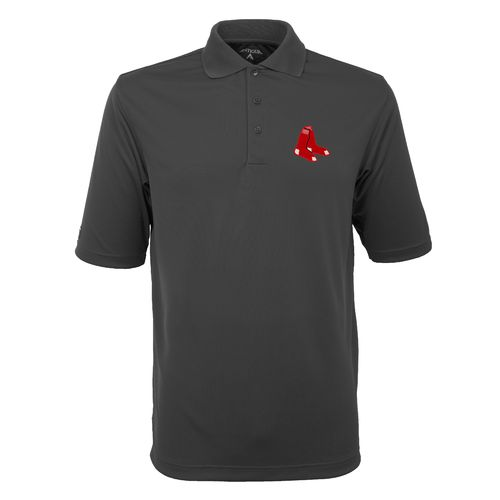 Antigua Men's Boston Red Sox Exceed Polo Shirt
