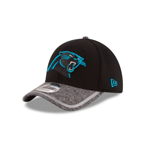 New Era Men's Carolina Panthers Onfield Training 39THIRTY Reverse Cap