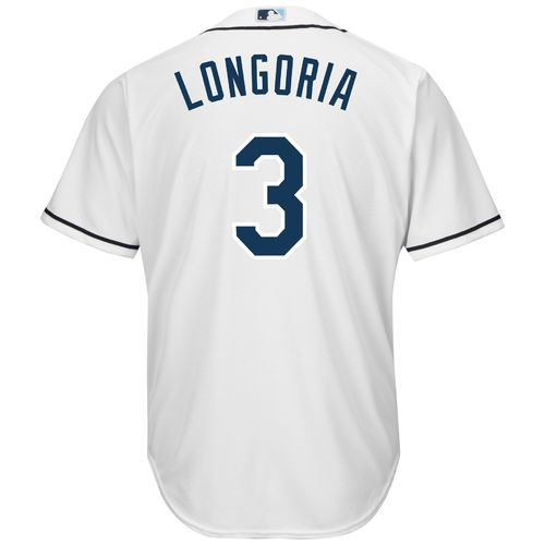 Majestic Men's Tampa Bay Rays Evan Longoria #3 Cool Base Replica Jersey - view number 1