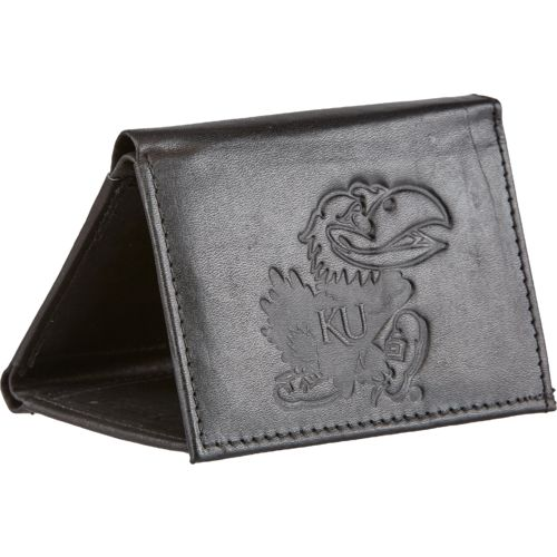 Rico Men's University of Kansas Trifold Wallet