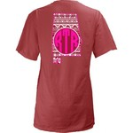 Three Squared Juniors' University of Alabama Moonface Vee T-shirt - view number 1