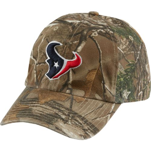'47 Houston Texans Realtree Camo Cleanup Cap