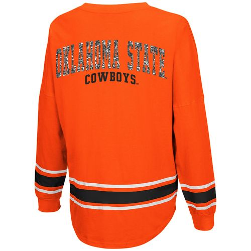 Colosseum Athletics™ Women's Oklahoma State University My Boyfriend Varsity Pullover