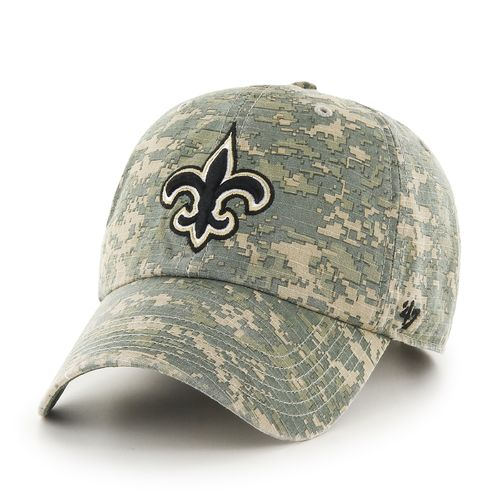 '47 New Orleans Saints Officer Camo Cleanup Cap