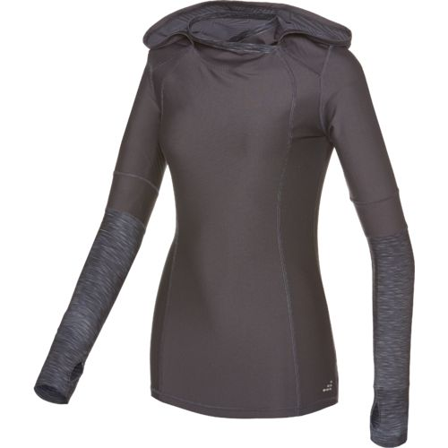 BCG™ Women's Long Sleeve Split Mock Neck Cold Weather Hoodie