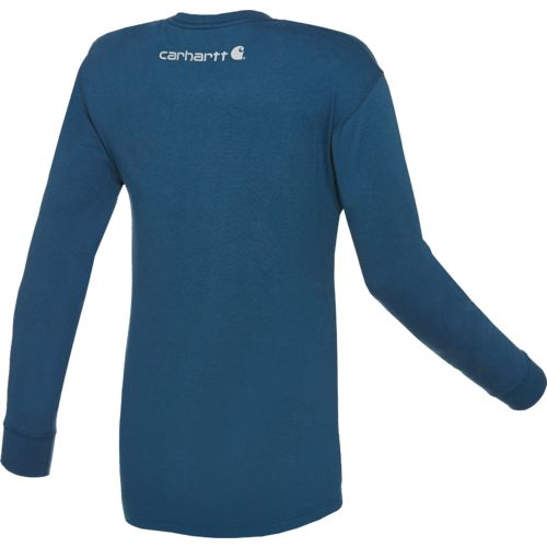 Carhartt Men's Long Sleeve Graphic Logo T-shirt - view number 2