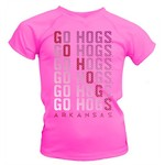 Soffe Girls' University of Arkansas Performance T-shirt