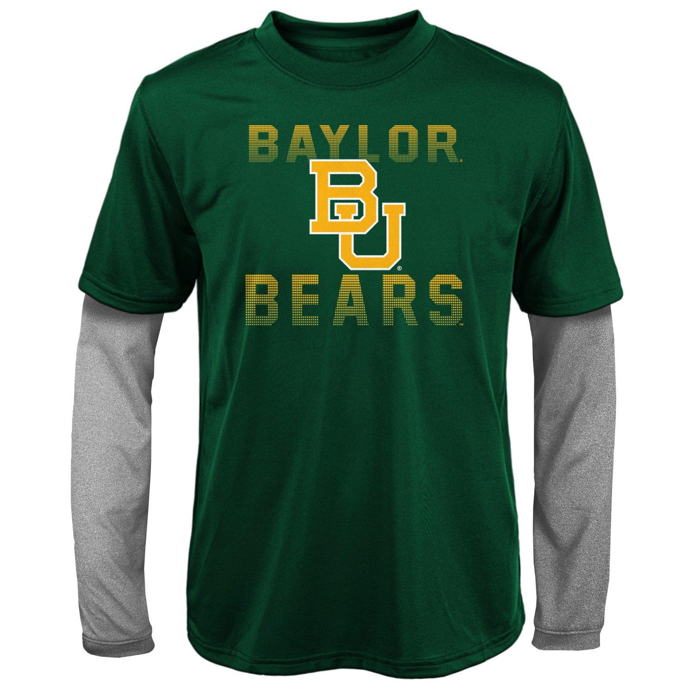 Gen2 Kids' Baylor University Bleachers Double Layer Long Sleeve T-shirt