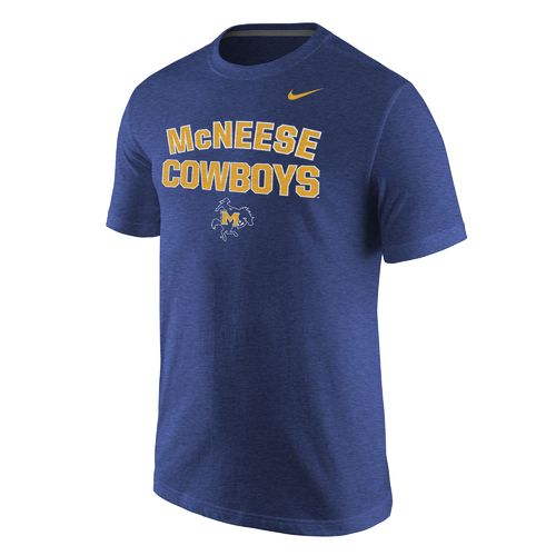 Nike™ Men's McNeese State University Triblend Short Sleeve T-shirt
