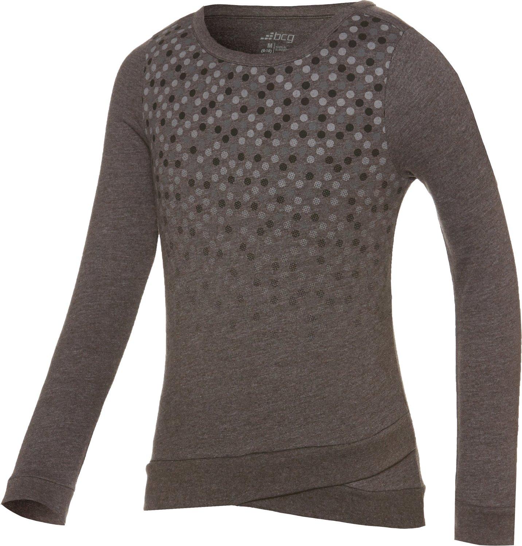 BCG™ Girls' Crisscross Long Sleeve Pullover