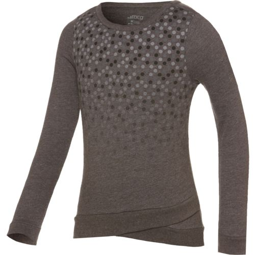 BCG™ Girls' Crisscross Long Sleeve Pullover