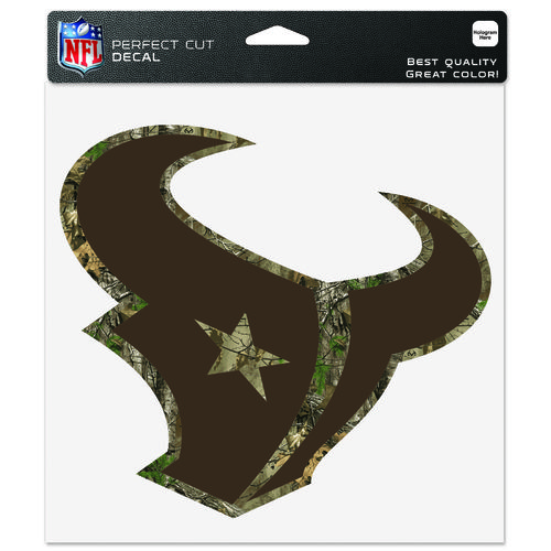 "WinCraft Houston Texans Realtree Perfect Cut 8"" x 8"" Decal"