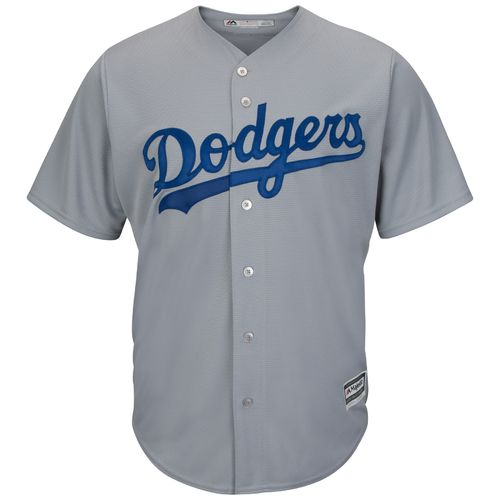 Majestic Men's Los Angeles Dodgers Alex Wood #57 Cool Base Replica Jersey - view number 3