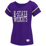 Colosseum Athletics™ Girls' Kansas State University Fading Dot T-shirt - view number 1