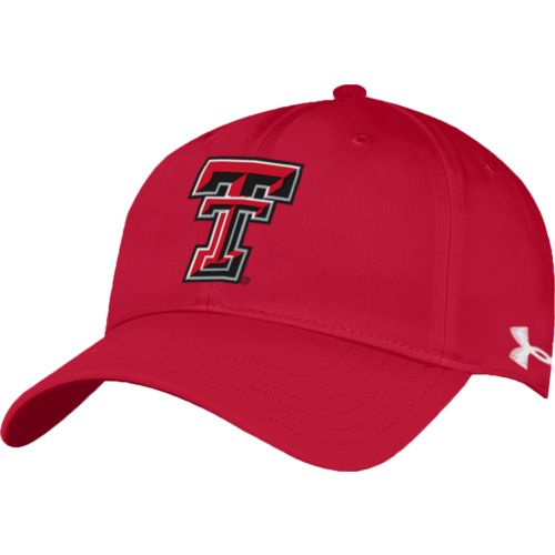 Under Armour™ Men's Texas Tech University Renegade Stretch Fit Cap