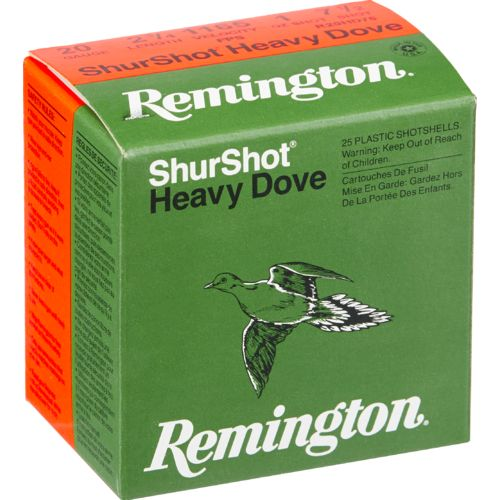 Display product reviews for Remington ShurShot Heavy Dove 12 Gauge 7.5  Shotshells