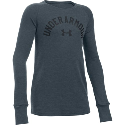 Under Armour® Girls' Waffle Long Sleeve T-shirt