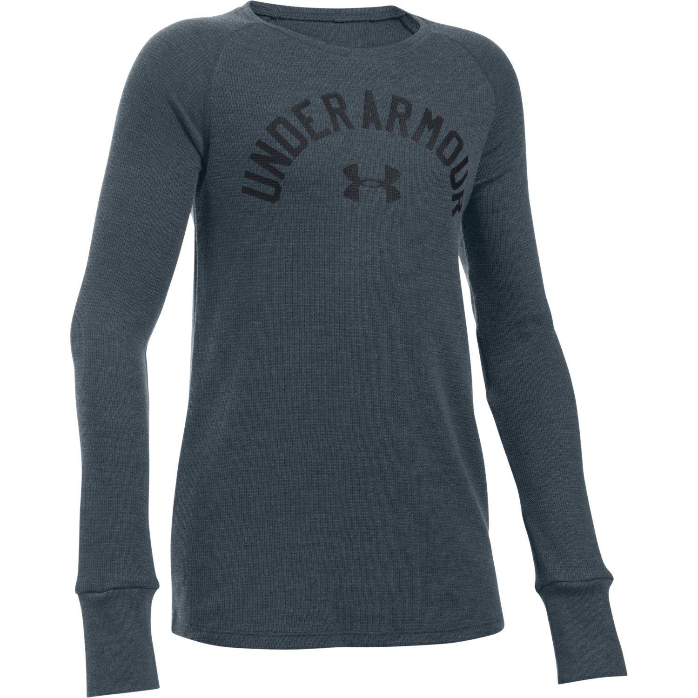 Under Armour® Girls' Waffle Long Sleeve T-shirt
