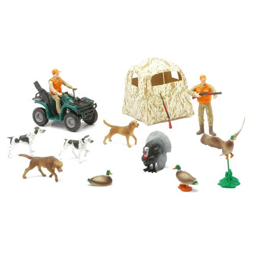 New-Ray Toys Hunting and Fishing Playset Assortment