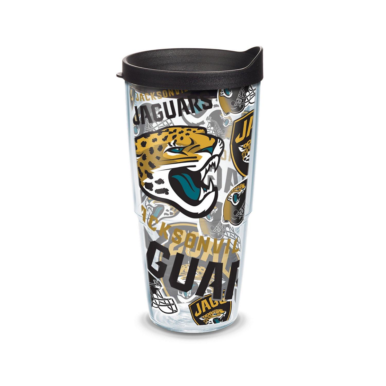 Tervis NFL Jacksonville Jaguars Allover 24 oz. Tumbler
