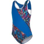 Capezio® Girls' Future Star Painted Patchwork Printed Pieced Leotard