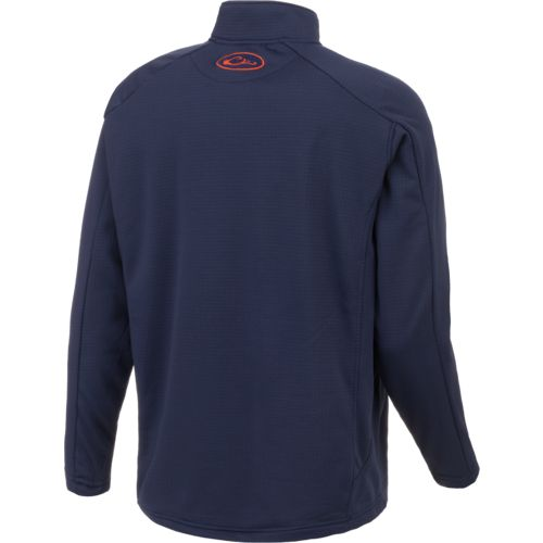 Drake Waterfowl Men's Auburn University BreathLite 1/4 Zip Pullover - view number 3