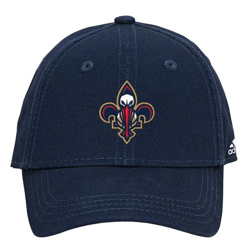 adidas Boys' New Orleans Pelicans Solid Basic Structured Cap