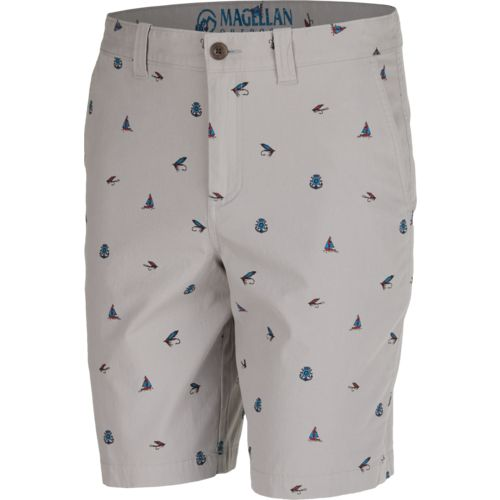 Magellan Outdoors Men's Printed Summerville Poplin Short