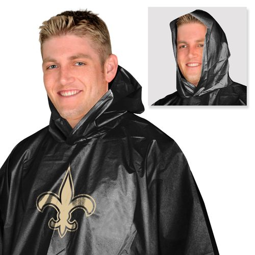 Mad Dasher Men's New Orleans Saints Rain Poncho