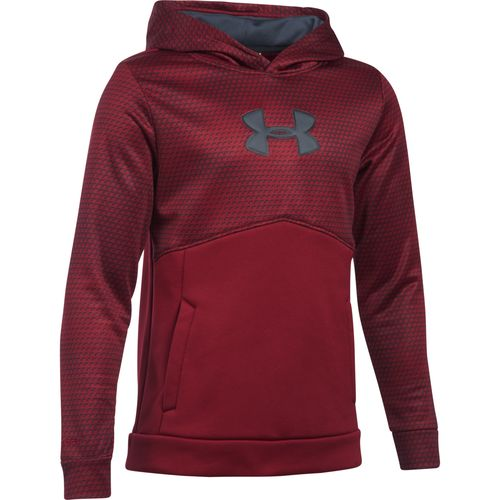 Under Armour Boys' Storm Mid Logo Fleece Hoodie