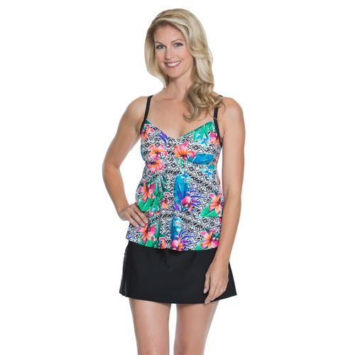 Sweet Escape Women's Amazon Bloom Tankini Swim Top