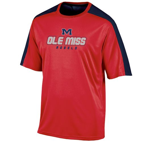 Champion™ Men's University of Mississippi Colorblock T-shirt - view number 1