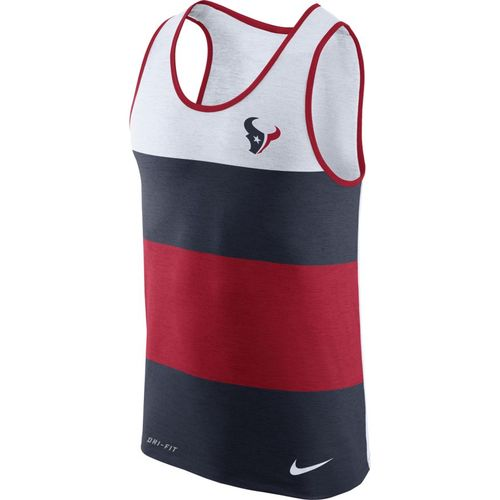 Nike™ Men's Houston Texans Dry Stripe Tank Top