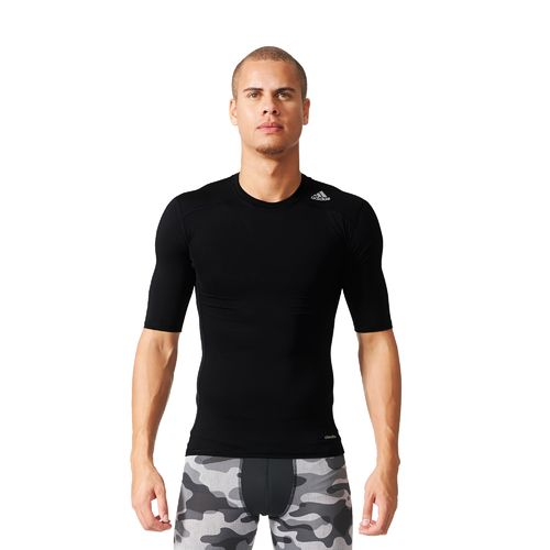 adidas Men's techfit Fitted Short Sleeve T-shirt - view number 6