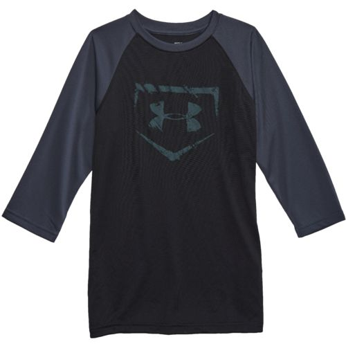 Under Armour Boys' BSBL Diamond 3/4 Sleeve T-shirt - view number 4