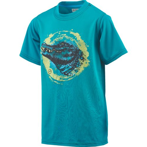 Magellan Outdoors Boys' Alligator Glow Graphic T-shirt - view number 3