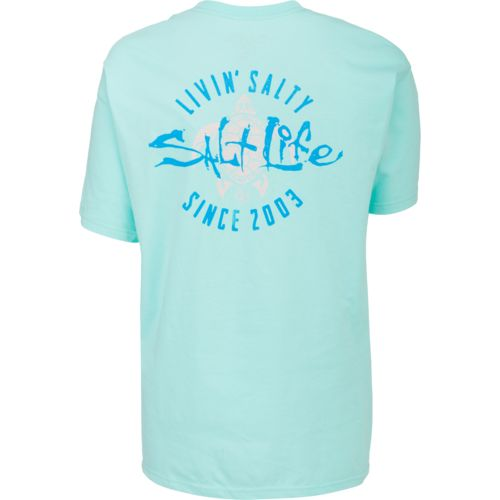 Salt Life Women's Livin' Salty Turtle Short Sleeve T-shirt