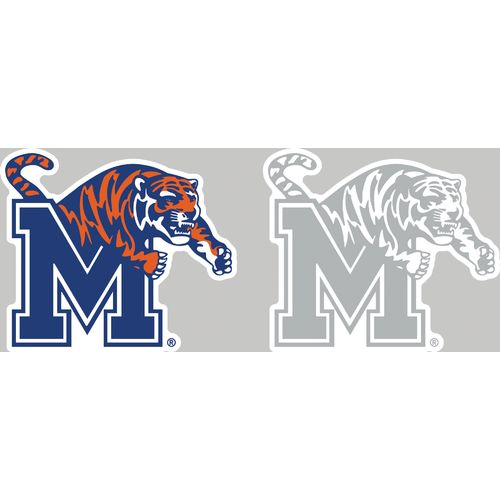Stockdale University of Memphis 4' x 7' Decals 2-Pack