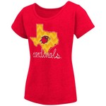 Colosseum Athletics™ Girls' Lamar University Tissue 2017 T-shirt - view number 1