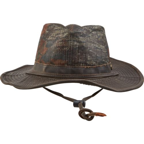 Magellan Outdoors Men's Mesh Camo Safari Hat